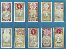 Lambert & Butler cigarette cards - INTERNATIONAL YACHTS Full mint condition set.