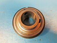 "SNR CUS204X1 Ball Bearing Insert, 1"" Bore w Snap Ring (FAG, Timken, SKF, NTN)"