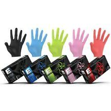 ELEGANCE Professional Nitrile Gloves - 100 Pack - Black,Green,Blue,Red,Pink