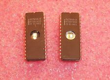 QTY (5) D2764A-2 INTEL 28 PIN CERAMIC DIP EPROM SOCKET PULLS CLEANED & ERASED