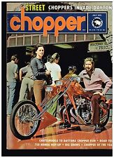 STREET CHOPPER JULY 1973 SEE CONTENT AEE 70's STYLE CUSTOM CHOPPERS TECH TIPS