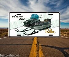 Arctic Cat Panther vintage snowmobile style license plate