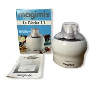 Magimix Le Glacier 1.1 Ice Cream Sorbet Frozen Yogurt Maker Healthy 11047