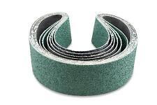 2 X 30 Inch 50 Grit Metal Grinding Zirconia Sanding Belts, 6 Pack