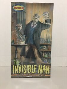 The Invisible Man All Plastic Assembly Kit Item#903 By Moebius Sealed
