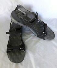 Women Columbia Athletic Omni-Grip Techlite Sandals Black Sz US10 EUR41