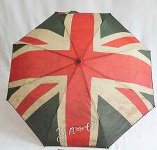 Y not ? Regenschirm Flagge UK England Automatik Schirm für Damen und Herren
