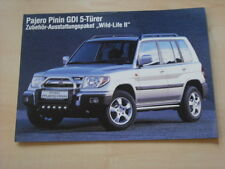 52549) Mitsubishi Pajero Pinin GDI Wild Life Prospekt 199?