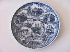 Views of Marblehead Mass flow blue historical plate made in England 4 R M Cook
