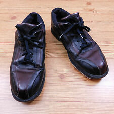 Dexter Bowling Shoes Black Maroon Lace Up Men's Right Handed Bowler Size ...
