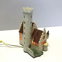 Faller 232342, Spur N, Wasserburg, Burg mit Beleuchtung, fertig gebaut, 1:160