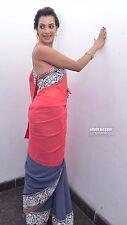 Diseñador indio paquistaní de Bollywood Sari étnico desgaste del partido boda lehenga Sari
