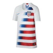 New New Nike USA Home Team 2018 Soccer Jersey White Youth Size XL  894024-100