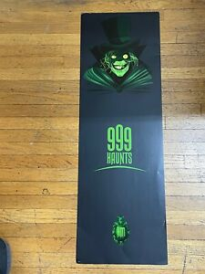 Run off extra test Comic Con 2010 SDCC Haunted Mansion 999 Poster Toro Read belo