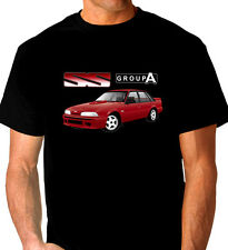 HOLDEN  BROCK   VL  SS  GROUP A  COMMODORE  BLACK  TSHIRT   ALL SIZES