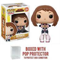 "Funko Pop My Hero Academia : OCHACO #251 Vinyl w/Case ""MINT"""