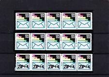 3 Sealed Envelopes MNH PNC Strips SC 2150