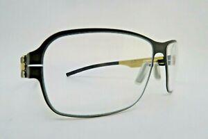 ic! berlin steel eyeglasses mod 124 Bollestr 57-18 made in Germany NOS