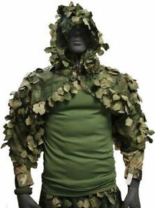 """Disguise Sniper Coat / Viper Hood """"Chimera"""" A-TACS FG camo, XS-XL"""