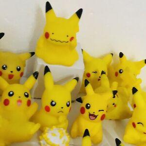 22 Different Pikachu Figures 1996-2020 Pokemon Nintendo Bandai Toy Bundle Set f