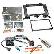 VW Crafter Doppio Din Cornice Autoradio Pannello Radio + Cavo ISO adattatore kit installazione