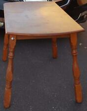 Vintage Solid Wood Kitchen Table - VGC - NICE TABLE - NEEDS REFINISHING