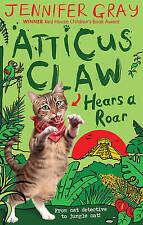 Atticus Claw Hears a Roar (Atticus Claw: World's Greatest Cat Detective), Gray,