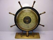 Antique  German Huger Ship Barometer 1950`s