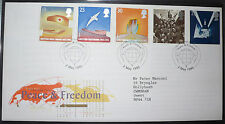 Peace & Freedom, Royal Mail First Day Cover, 02/05/1995 GB, London SW