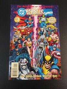 DC vs Marvel 1 2 3 4 Complete Set