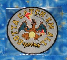 Pokemon GO Vintage Charizard Gotta Catch Em All Patch Official Release from 2000