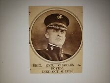 Charles A. Doyen General Navy 1918 MW Pictorial Profile Panel