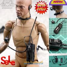 1/6th SWAT Headset Model Radio/Communication Equipment Model Component Headphone