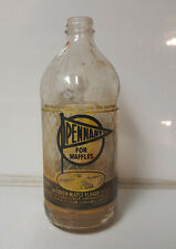 Vintage Bottle ACL Pennant Maple Syrup for Waffles