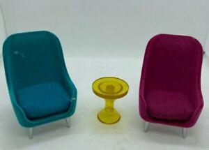 Lundby Dollhouse Chair Set