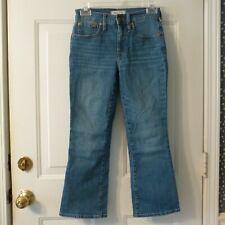Madewell 5 Pocket Cali Demi-Boot Stretch Jeans sz 24 P (25x24)