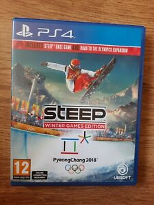 Steep: Winter Games Edition PS4 VGC FREE Post & FAST DISPATCH