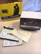 Vintage BRAND NEW Sharp AMC-38 AM/FM Solid State Radio w paperwork 1965-70 Japan