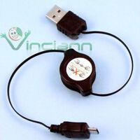 Cavo dati USB retrattile compatto per Samsung C3300 CRM