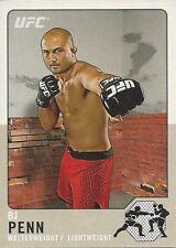 BJ Penn 2011 Topps UFC Title Shot Legacy Card # L3