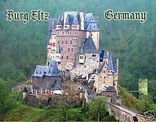 Germany - BURG ELTZ - Travel Souvenir Fridge Magnet