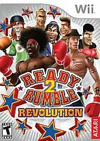 Ready 2 Rumble Revolution (Nintendo Wii, 2009) Disc Only, Tested