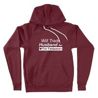 Sweater Pullover Hoodie Will Trade Husband For Fastpass + Family Disney Vacation