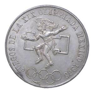 SILVER - WORLD COIN - 1968 Mexico 25 Pesos - World Silver Coin *928
