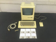 Original Collectable 1984 Macintosh 128k M0001 System - Tested & Serviced!