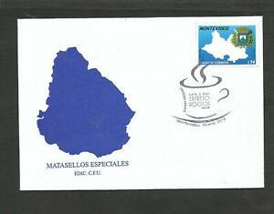 URUGUAY 2010, COFFEE, FDC