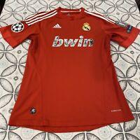 Adidas Real Madrid Champions League Soccer Jersey Men M Red 2011/2012 Ronaldo