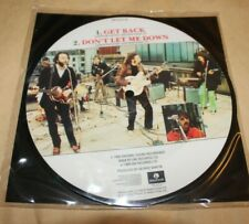The Beatles Picture Disc -  Get Back Don't - Let Me Down - Excellent -