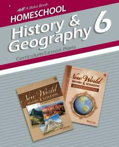 Abeka History & Geography 6 Curriculum/Lesson Plans
