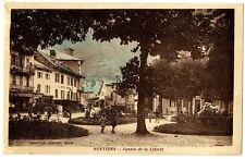 CPA 73 Savoie Moutiers Square de la Liberté animé